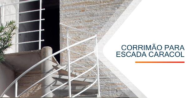 Corrimão para Escada Caracol Sorocaba