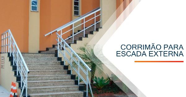 Corrimão para Escada Externa Sorocaba