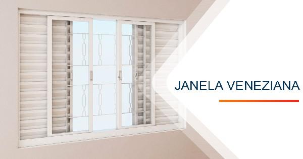Janela Veneziana Sorocaba